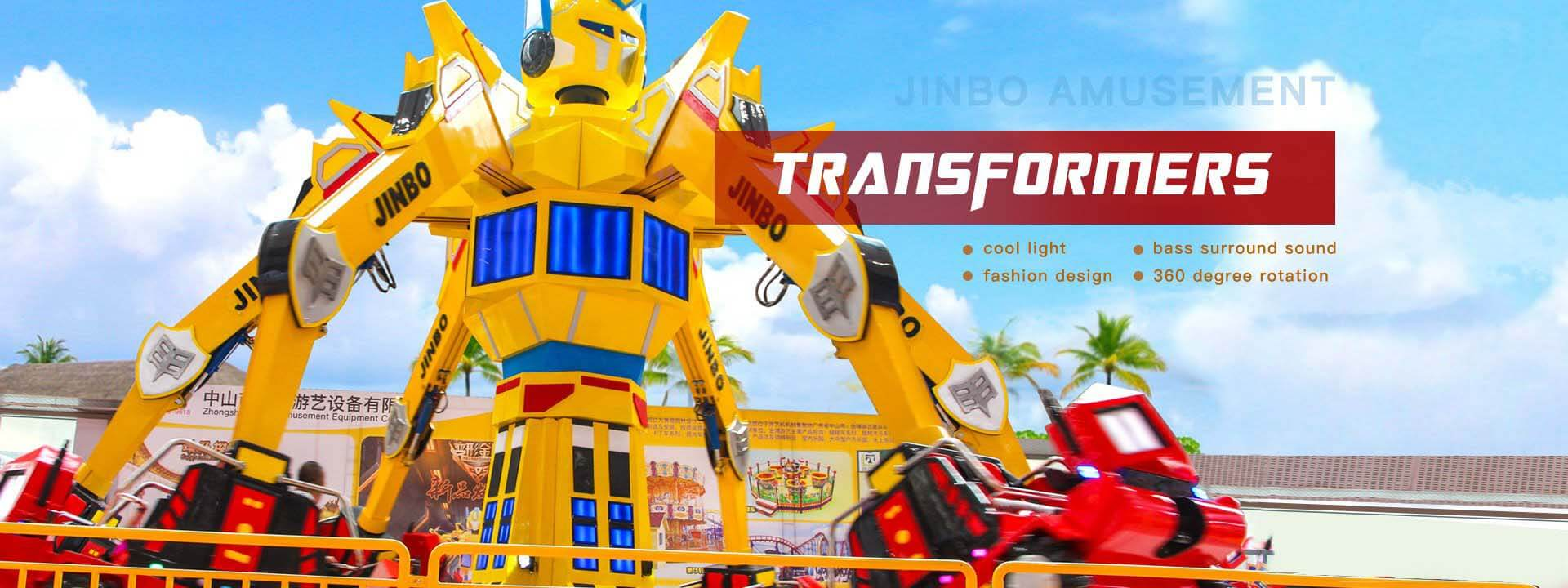 Transformers Robot rides
