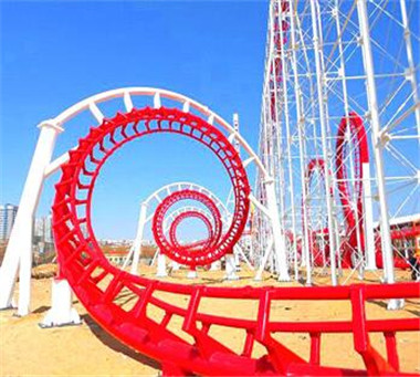 Six Ring Roller Coaster
