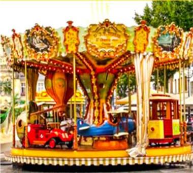 16 Seats Luxury Carousel