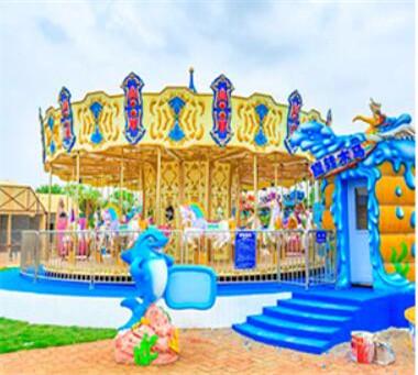 24 Seats Luxury Carousel
