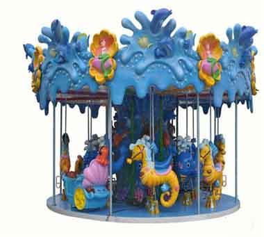 Hot Sale Ocean Theme Park Fairground Carousel Rides Cheap