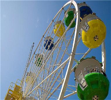amusement park outdoor equipment 65m ferris wheel